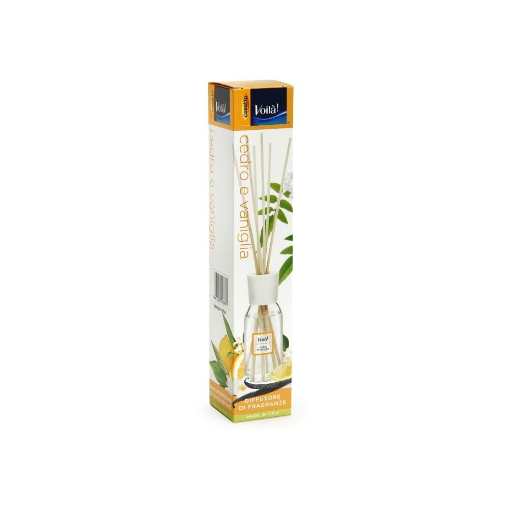 Vonný difuzér s vôňou cédrového dreva a vanilky Cosatto Perfume