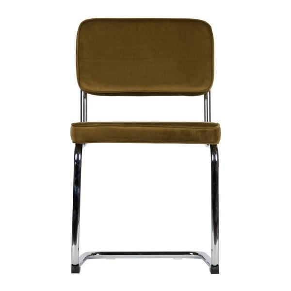 Sada 2 hnedých stoličiek WOOOD Lien