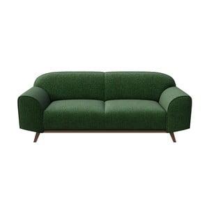 Zelená pohovka Mesonic Nesbo, dĺžka 193 cm