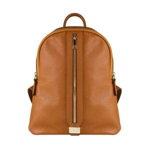 Hnedý kožený batoh Maison Bag Lisa