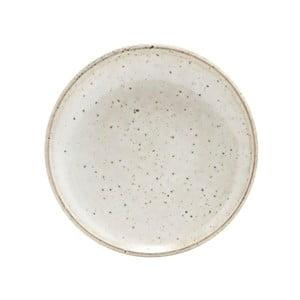 Béžový dezertný tanier z kameniny House Doctor, ø 15,2 cm