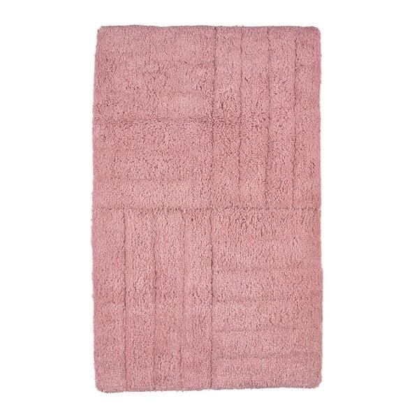 Ružová kúpeľňová predložka Zone Classic, 50x80cm