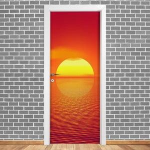 Samolepka na dvere LineArtistica Tramonto, 80×215cm