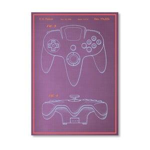 Plagát Joystick, 30x42 cm