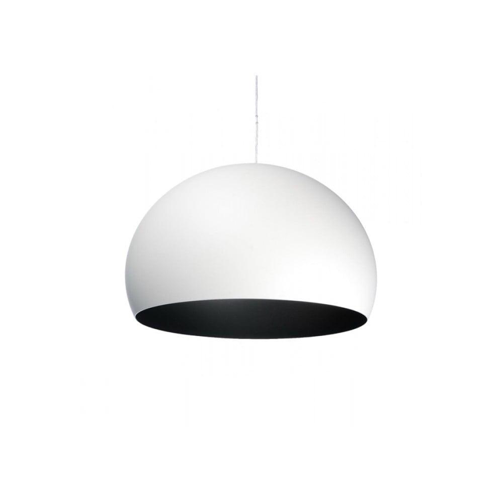 Biele stropné svietidlo Kartell Fly, ⌀ 38 cm
