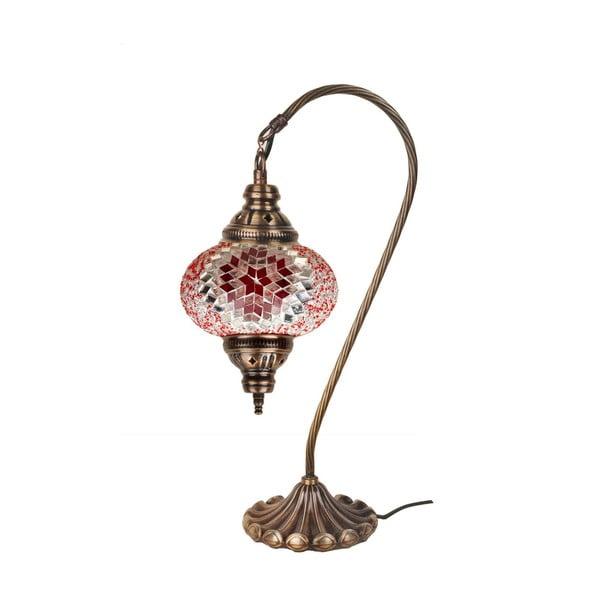 Sklenená lampa Fishing XII, 17 cm