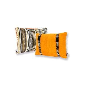 Vodeodolný, obojstranný vankúšik Dream Pillow Carrot Tribal