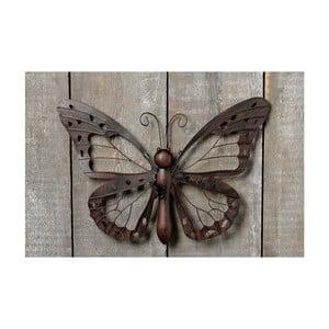 Nástenná dekorácia Butterfly Iron