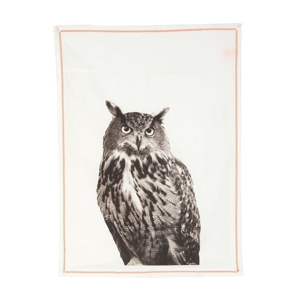 Kuchynská utierka Plain White Owl, 50x70 cm