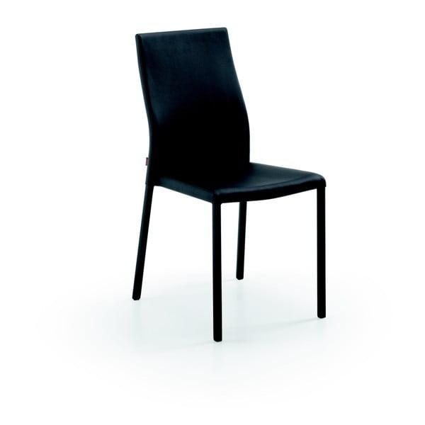 Stolička  Aura, čierna