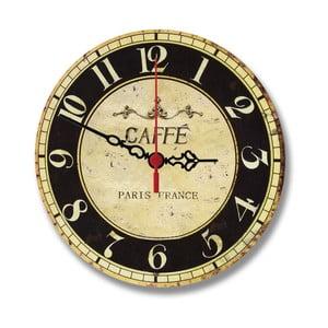 Nástenné hodiny Café Paris, 30 cm