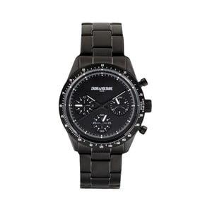 Pánske čierne hodinky Zadig & Voltaire Athletic