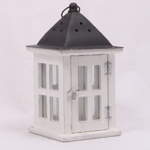 Drevený lampáš Little Cabin