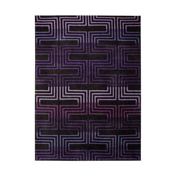Koberec Esprit Matrix Purple, 70x140 cm