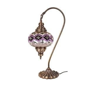 Sklenená lampa Fishing VI, 17 cm