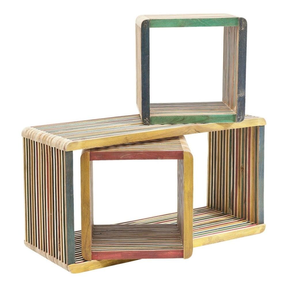 Sada 3 farebných policových dielov Kare Design Micado