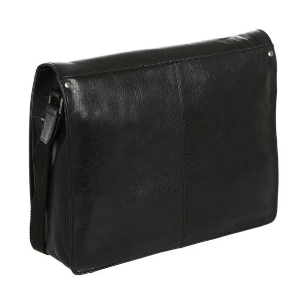 Pánska kožená taška Darwin Black