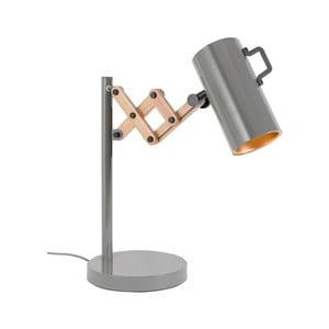 Sivá stolová lampa Zuiver Flex