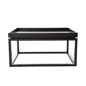 Čierny konferenčný stolík NORR11 Tip