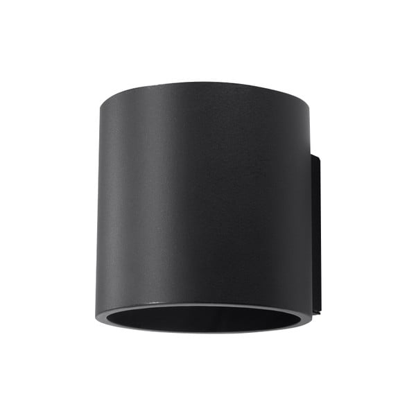 Čierne nástenné svetlo Nice Lamps Roda 1