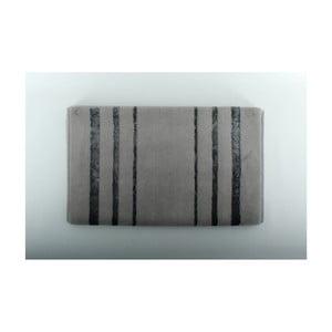 Sivá kúpeľňová predložka U.S. Polo Assn. Charleston, 60 x 100 cm