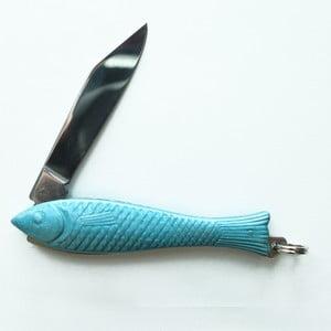 Svetlomodrý český nožík rybička