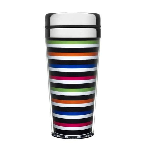 Cestovný termohrnček Sagaform Stripes
