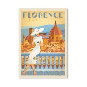 Plagát Americanflat Florence Italy, 42 x 30 cm