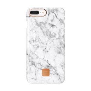 Bielo-sivý ochranný kryt na telefón pre iPhone 7 a 8 Plus Happy Plugs Slim