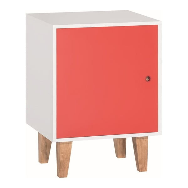 Červeno-biela skrinka Vox Concept