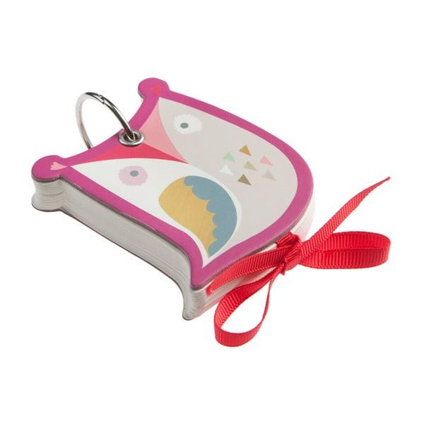 Mini zápisník na kľúče Notebook