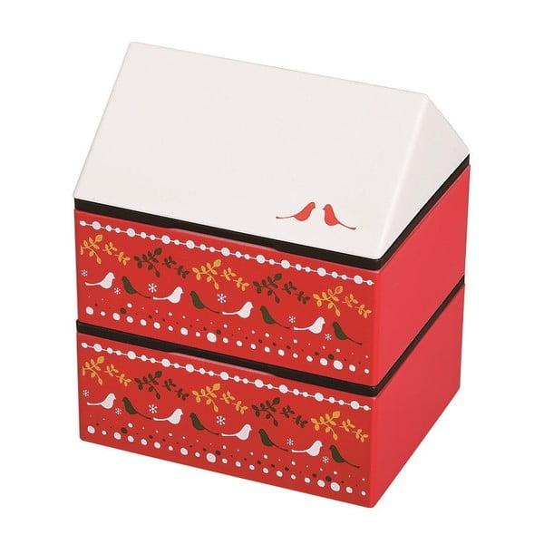 Desiatový box Joli Bento Metsa Red, 725ml