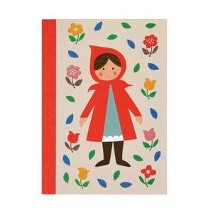 Zošit s motívom Červenej čiapočky Rex London Red Riding Hood, A6
