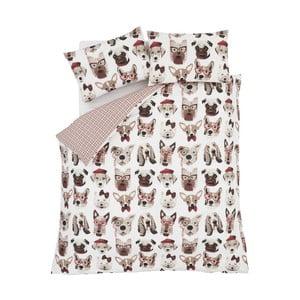 Obliečky Catherine Lansfield Dapper Dogs, 135 x 200 cm