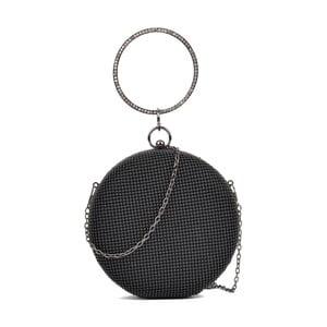 Čierna okrúhla kabelka Sofia Cardoni