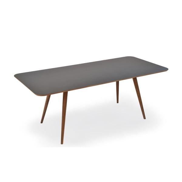 Jedálenský stôl z dubového dreva Gazzda Linn, 140 x 90 x 75 cm