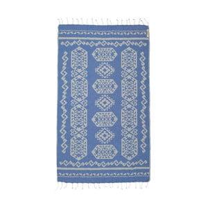 Hamam osuška Ottoman Blue, 95x175 cm