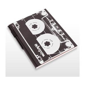 Skicár s ceruzkou Mixtape, 21x29,7 cm