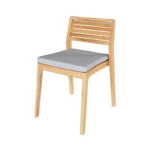 Sada 2 záhradných stoličiek z teakového dreva Ezeis Aquariva