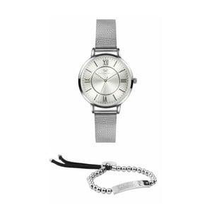 12da0c5cf Set dámskych hodiniek s remienkom z chirurgickej ocele a náramku Victoria  Walls Asia