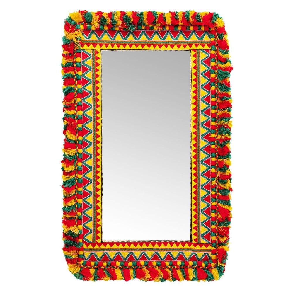 Zrkadlo na stenu Kare Design Flick Flack, 95 × 60 cm