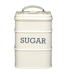 Krémová plechová dóza na cukor Kitchen Craft Sugar