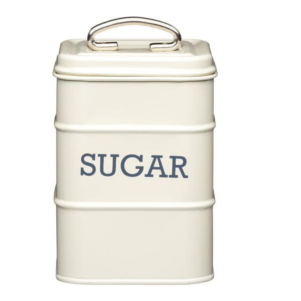 Krémová plechová dóza Kitchen Craft Sugar