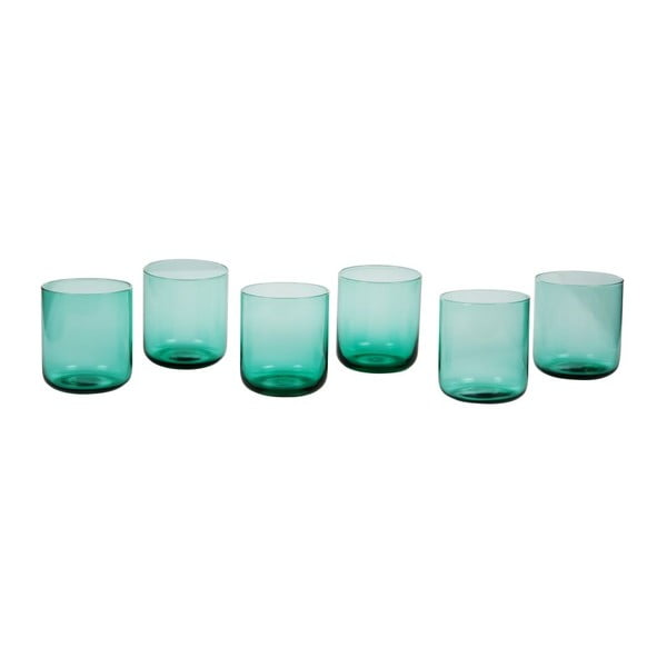 Sada 6 pohárov Venice Blue
