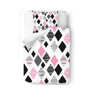 Obliečky Pink Geometry, 140x200 cm