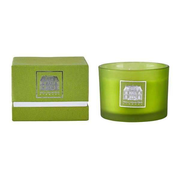 Sviečka s vôňou zeleného čaju a uhorky Villa Collection, 8 cm