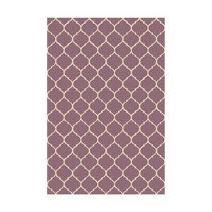 Vinylový koberec Reticular Marsala, 133x200 cm