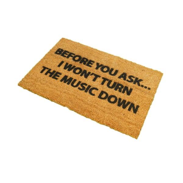 Rohožka Artsy Doormats Loud Music, 40x60cm