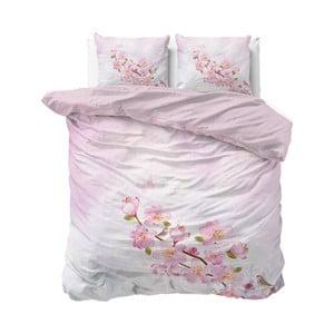 Ružové obliečky Sleeptime Sweet Flowers, 240×220 cm