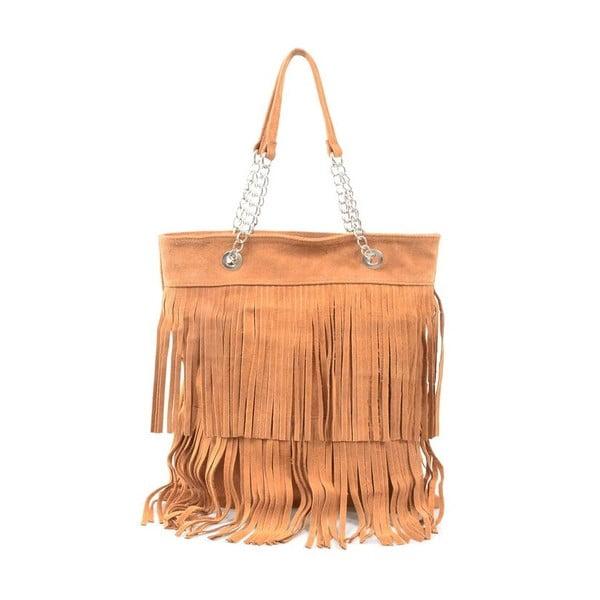 Kožená kabelka Marianne, ťavia